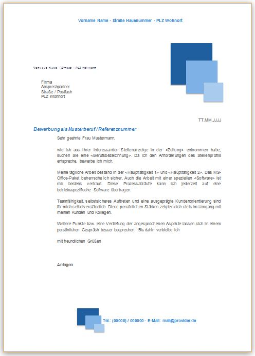 Bewerbungsschreiben Professionell Bewerbung Co
